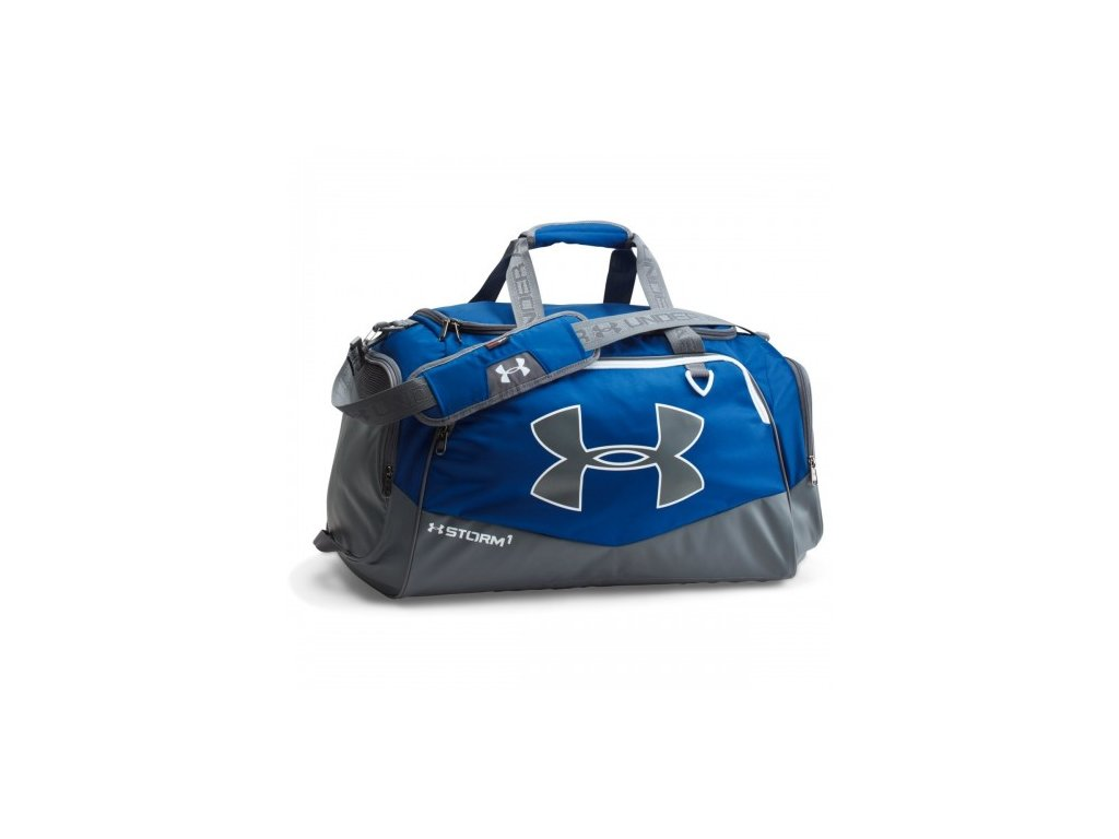 Taška Under Armour Storm Undeniable II MD Duffle modrá