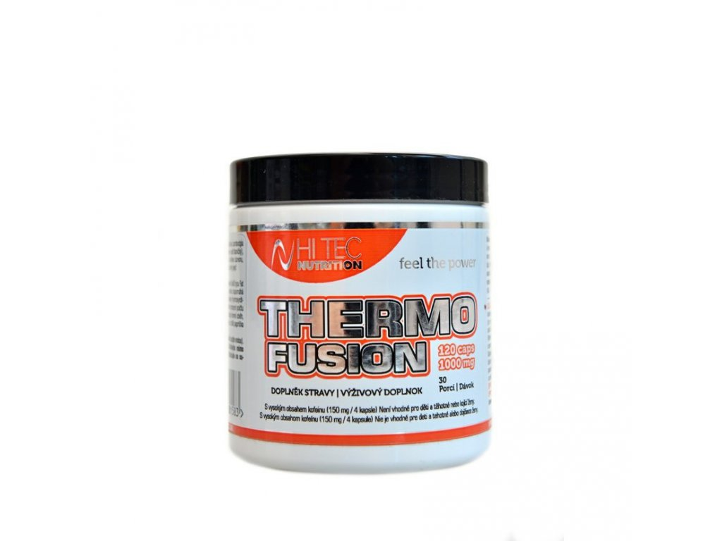 Hi tec Nutrition Thermo Fusion 120cps/1000 mg