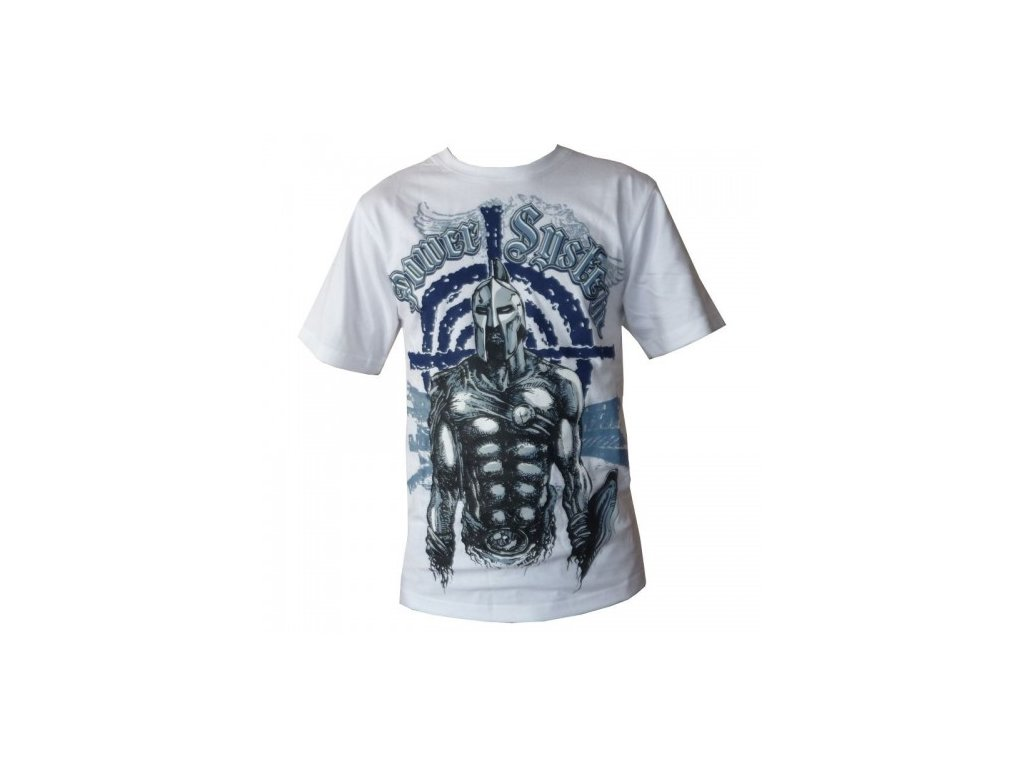 Tričko s krátkým rukávem SPARTAN bílé