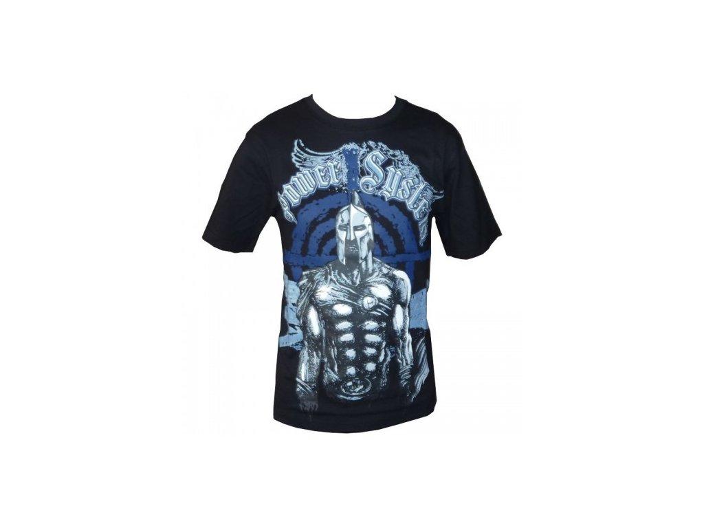Tričko s krátkým rukávém SPARTAN černé