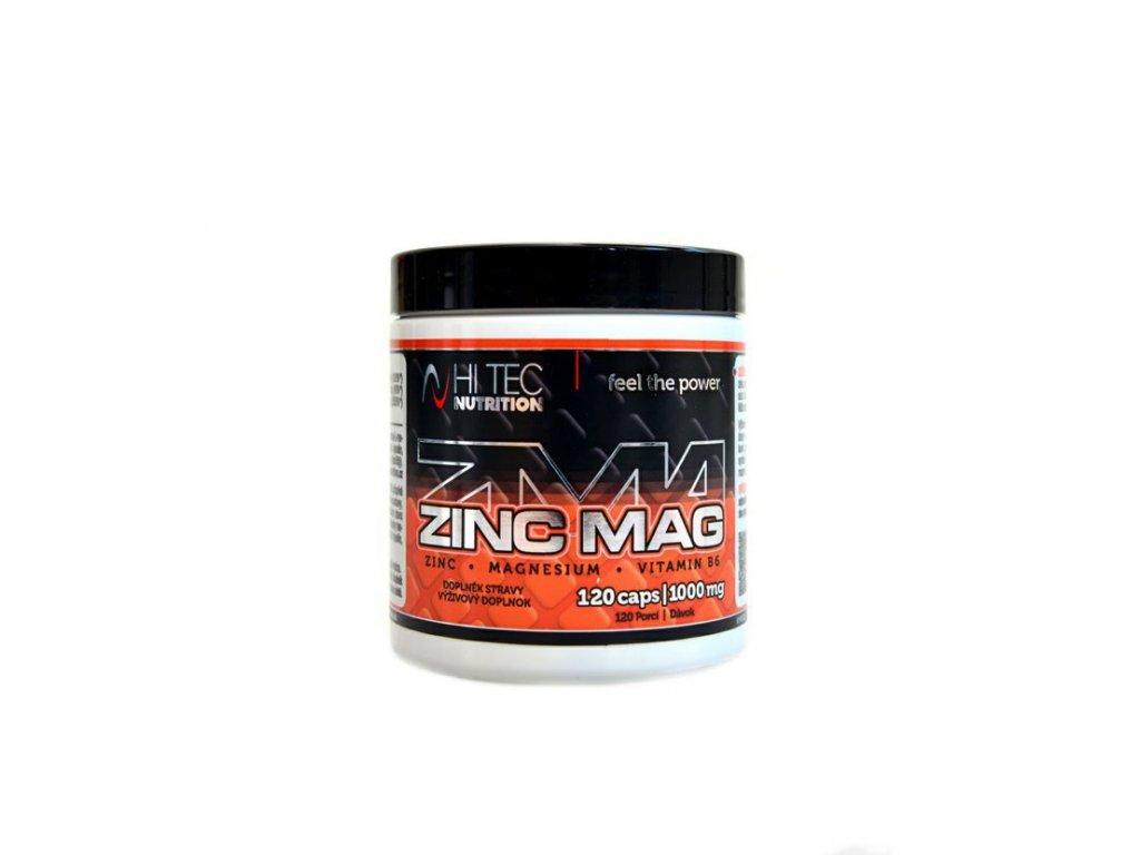 Hi tec Nutrition ZINC MAG 120 kaps/1000 mg