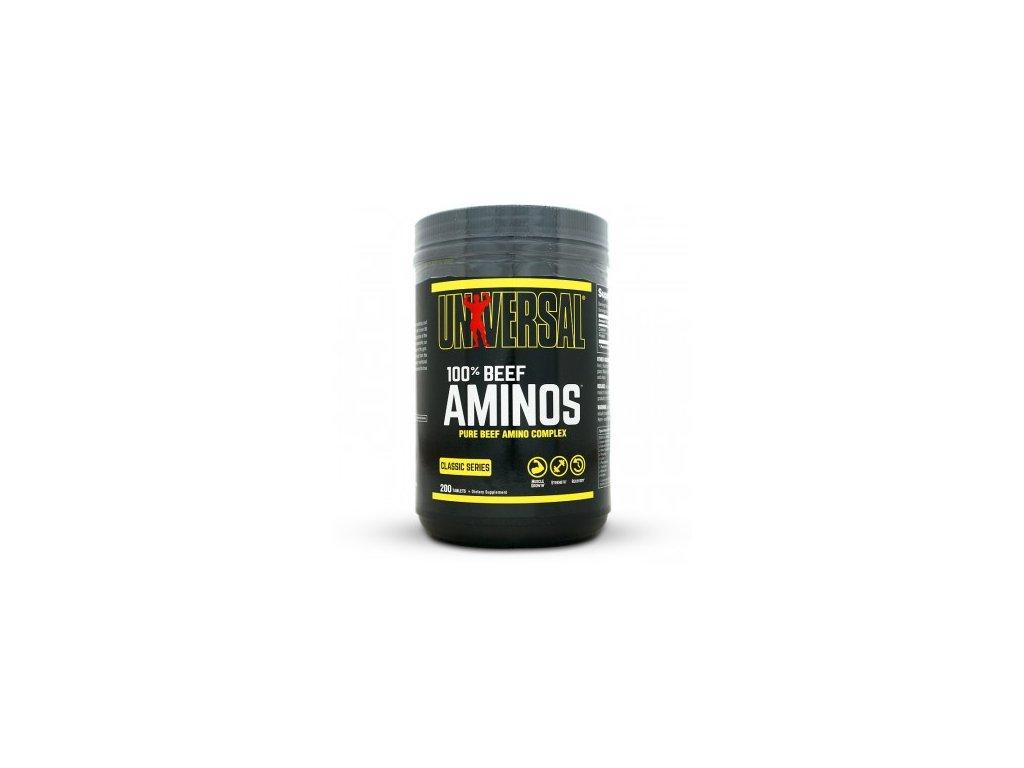 universal 100 beef aminos 200 tablet original