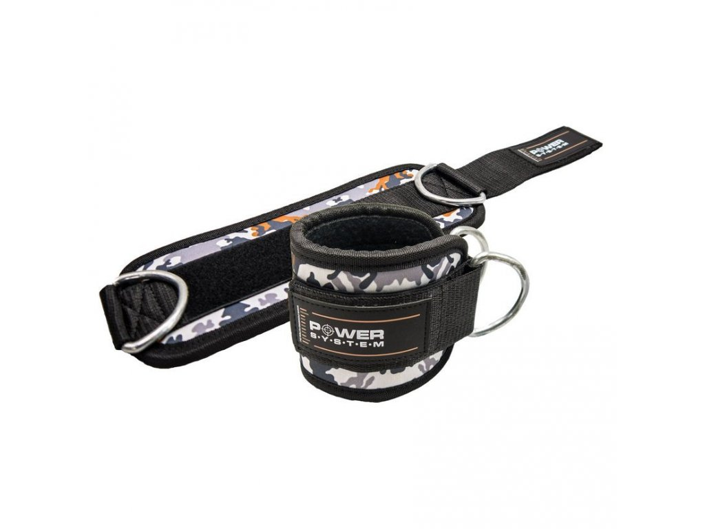PS 3470 ANKLE STRAP CAMO BRAUN SET