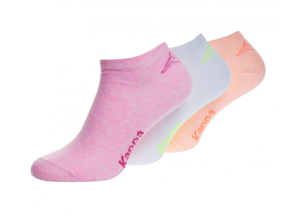 KAPPA ZERAZ 3PACK ponožky