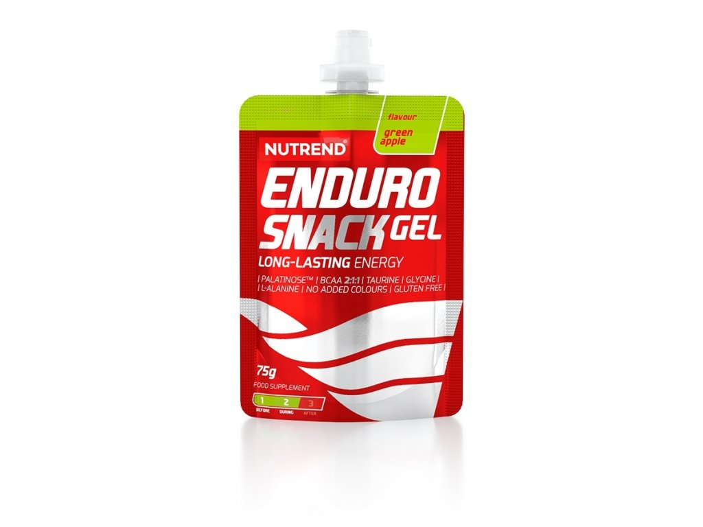 endurosnackgel green apple sacek