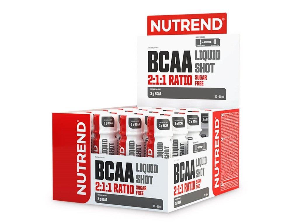 bcaa liquid shot 20x60ml 2021