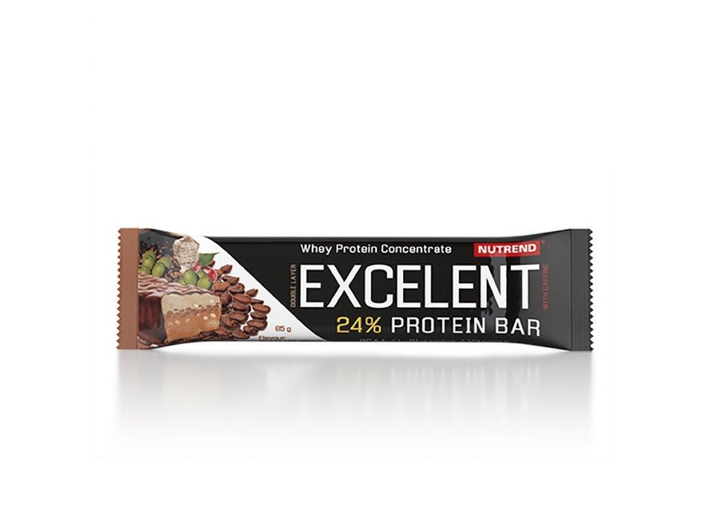 excelent protein bar brazlcoff 85g new