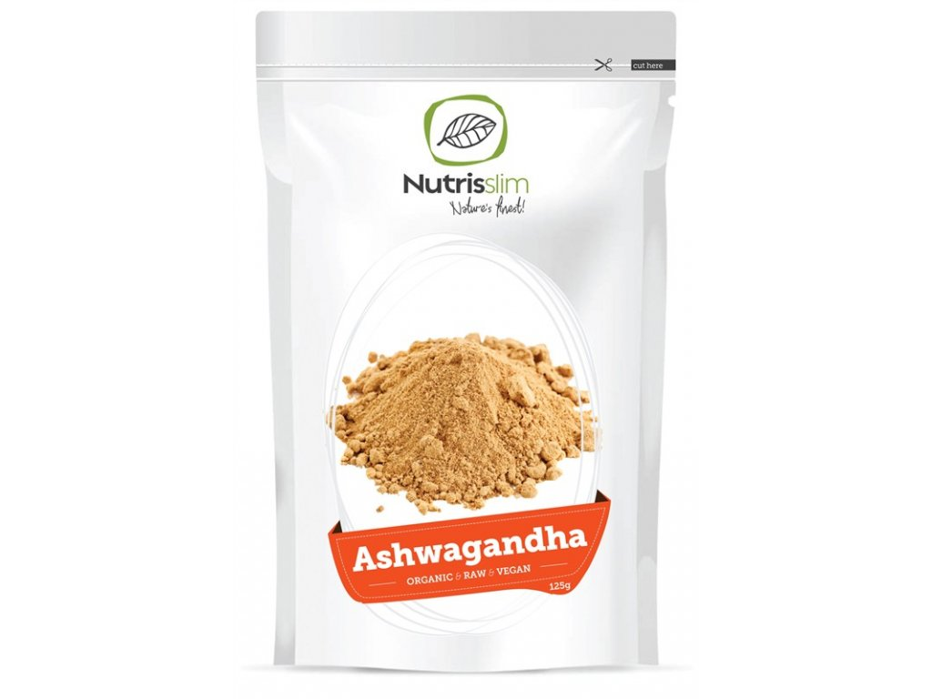 ashwagandha powder nutrisslim superfood organic vegan raw