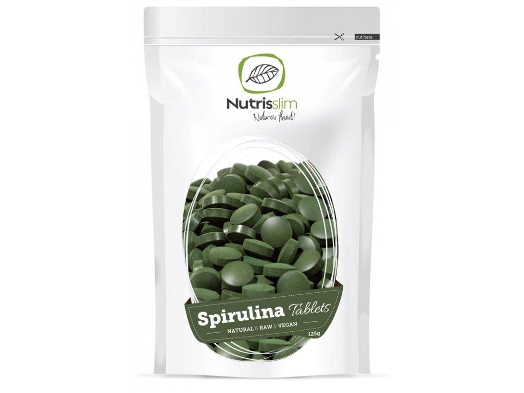 spirulina tablets nutrisslim superfood organic vegan raw