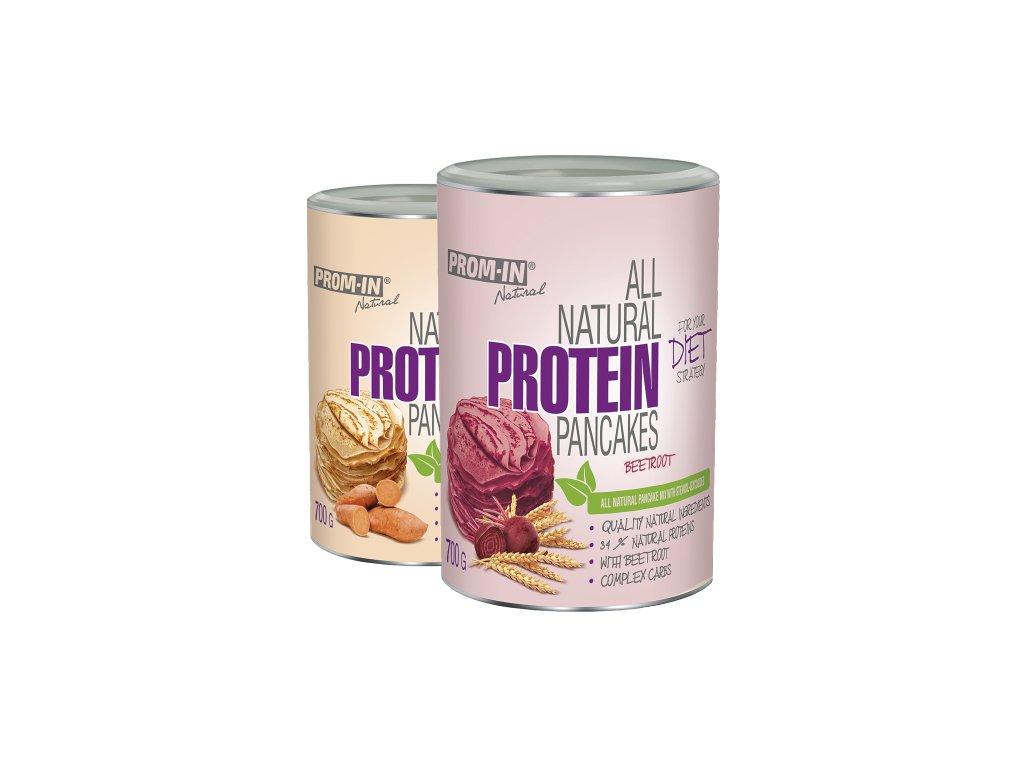 """PROM-IN Proteinové palačinky 700 g  + Kupón """"START"""" na slevu -10%"""