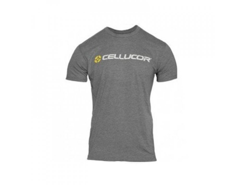 t shirt gym cellucor grey