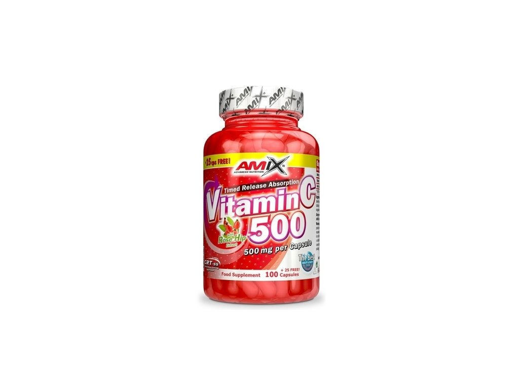 amix vitamin c 500mg 125 kapsli