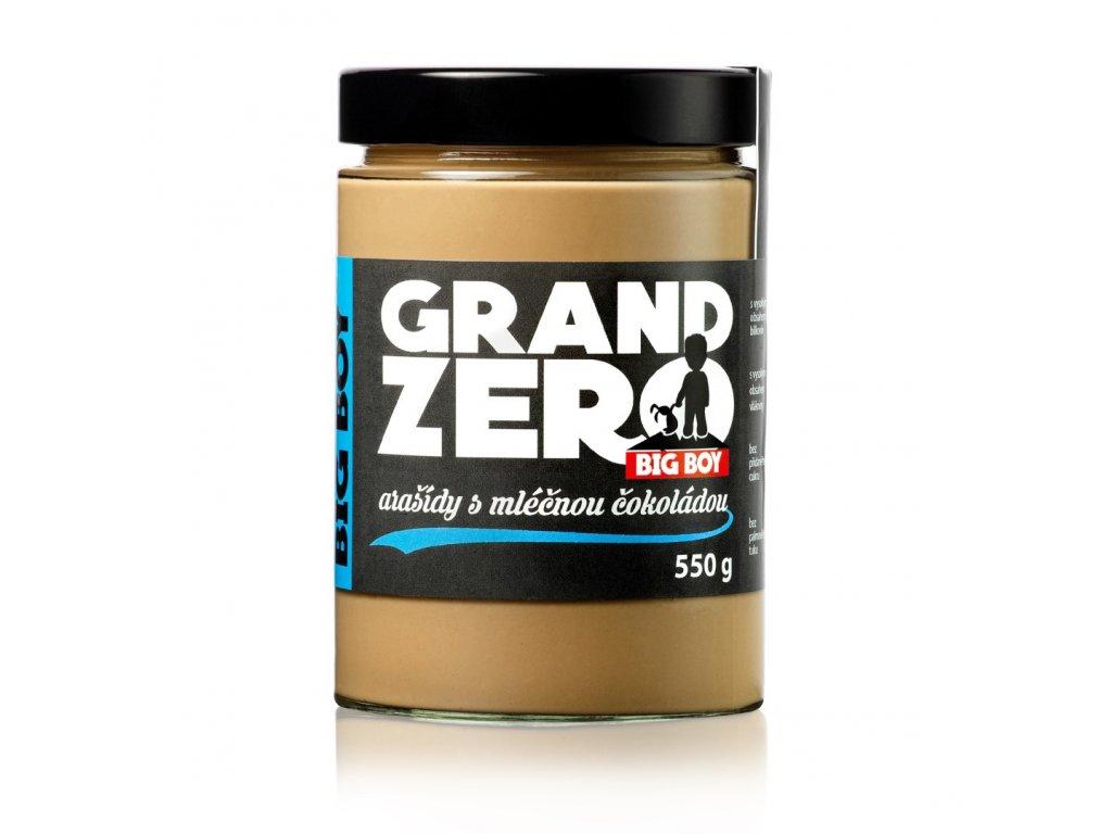kremy big boy grand zero s mlecnou cokoladou 550g