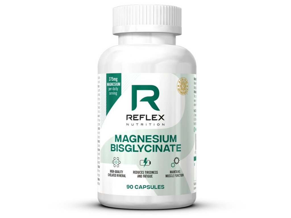 magnesium bysglycinate 90 kapsli