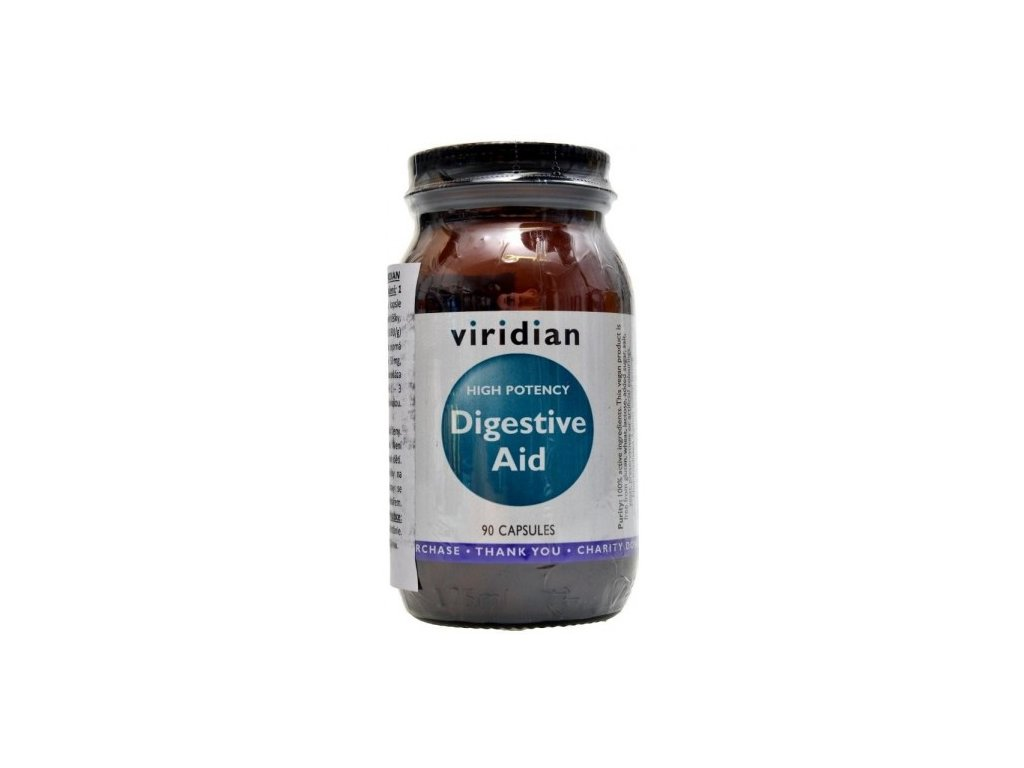 High Potency Digestive Aid 90 cps.