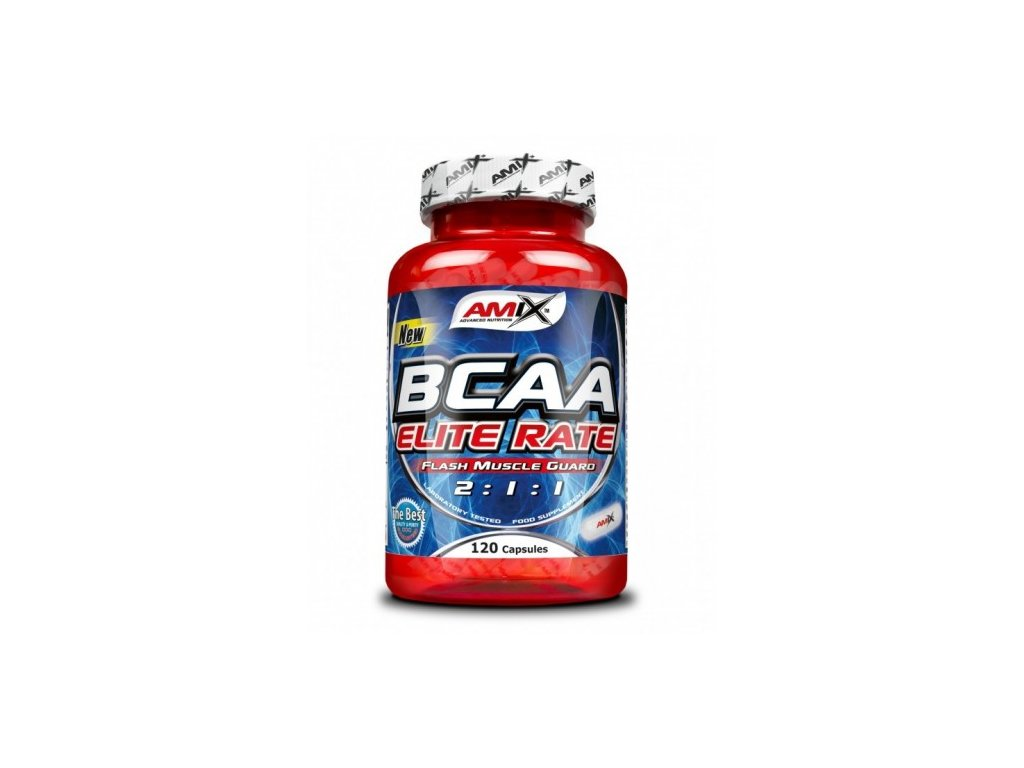 Amix BCAA Elite Rate 500cps.
