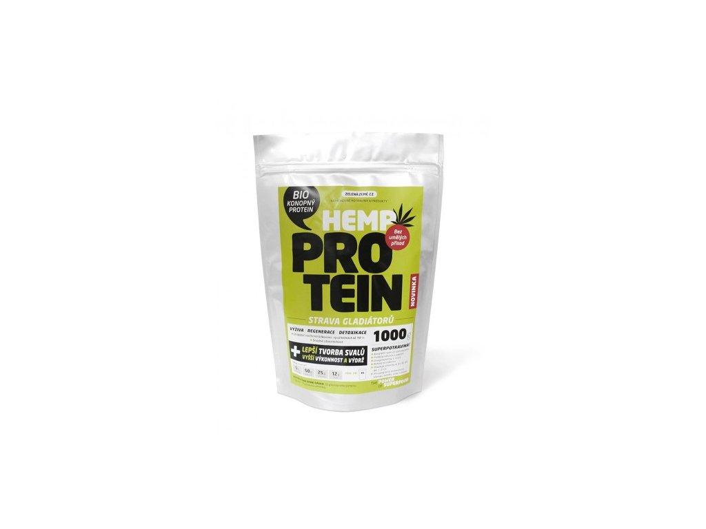 Konopný protein Bio 1kg