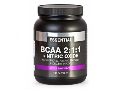 PROM-IN BCAA  maximal 2:1:1 + nitrix oxide 240cps.