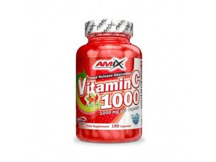 Amix Vitamin C 1000mg 100 kapslí