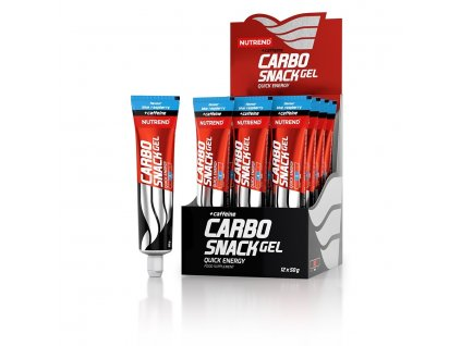 carbosnack gel with caffeine 2019 blue raspberry tube