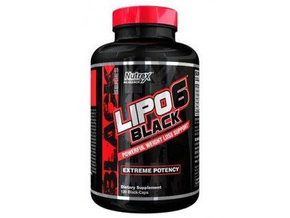 nutrex lipo 6 black 120 kapsli original