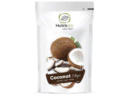 coconut chips nutrisslim superfood organic vegan raw