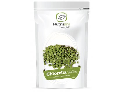 chlorella tablets nutrisslim superfood organic vegan raw