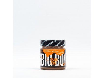 kremy big boy grand zero s mlecnou cokoladou 250g