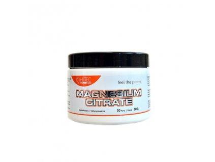 "HI TEC Nutrition Magnesium Citrate 300g pomeranč  + Kupón ""START"" na slevu -10%"