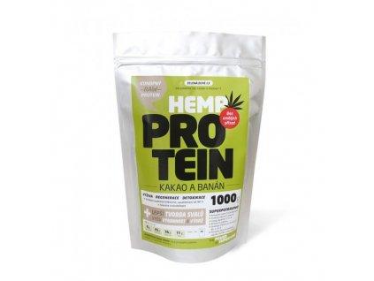 Konopný protein 1kg ochucený