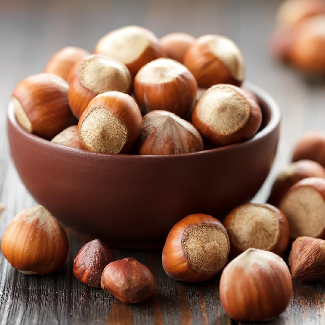 Ořechové okénko - Lískové ořechy