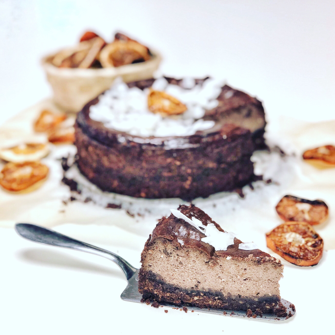 RECEPT - Nutella cheesecake