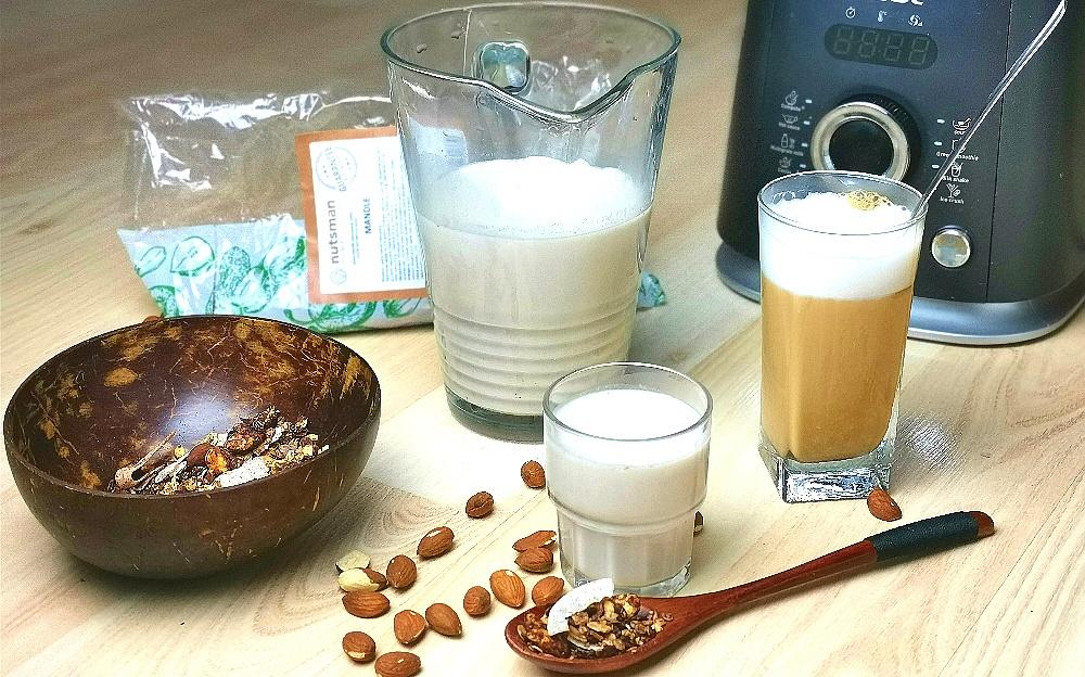 RECEPT - Mandlové mléko