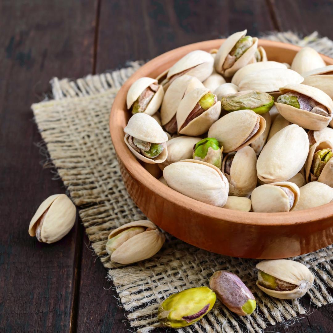 Ořechové okénko - Pistáciové oříšky