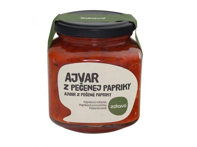 ZDRAVO Ajvar z pečených paprik 300g