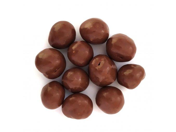 Maliny v mléčné čokoládě 2.