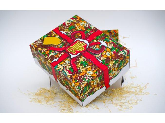 536 vanocni darkova krabicka
