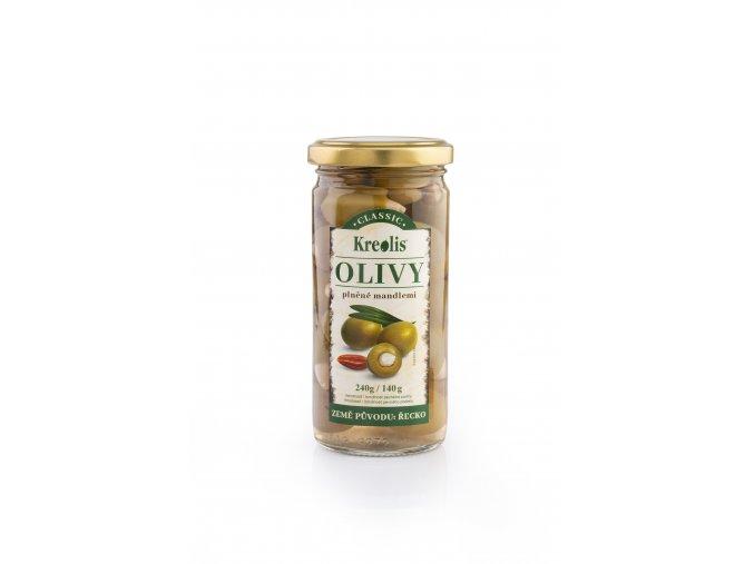 Olivy s mandlí 240g