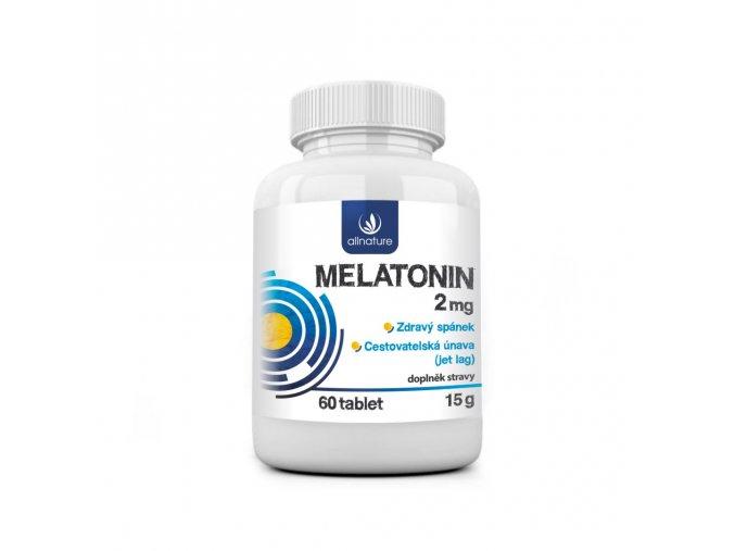 allnature melatonin 2 mg 60 tbl