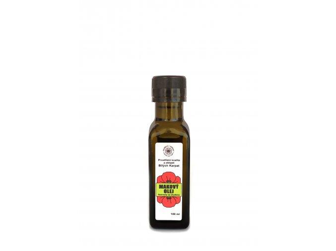 Makový olej 100ml