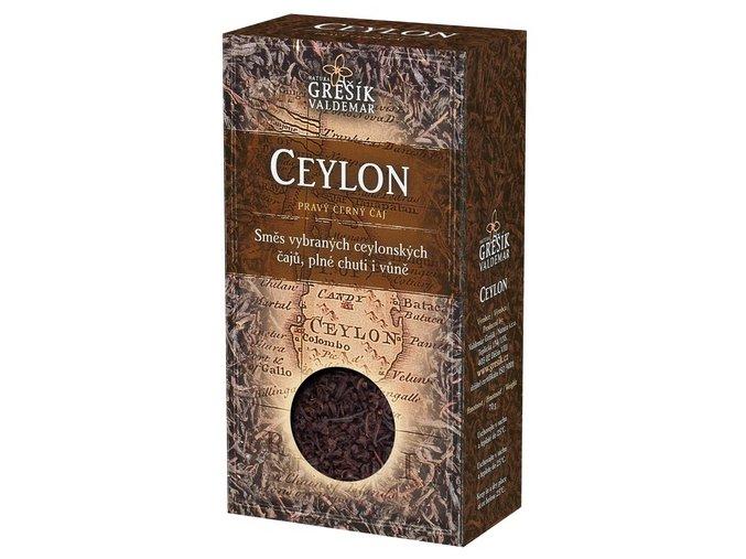 GREŠÍK Ceylon OP/BOPI Čaje 4 světadílů krab. 70 g