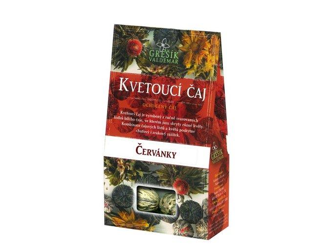 GREŠÍK Kvetoucí čaj Červánky Čaje 4 světadílů  krab. 4 ks