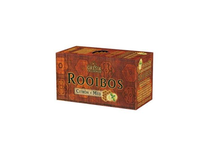 GREŠÍK Rooibos Citrón + Med 20 n.s.