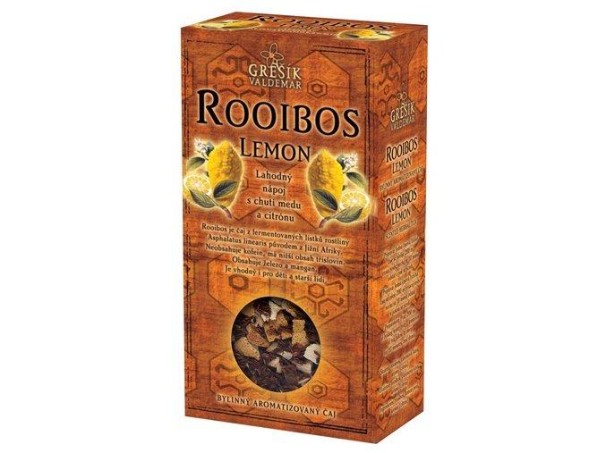 GREŠÍK Rooibos Lemon  Čaje 4 světadílů krab. 70 g