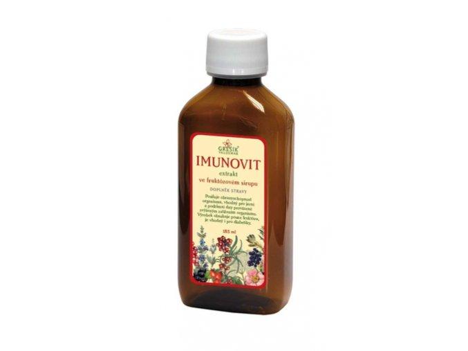 GREŠÍK Imunovit extrakt 185ml