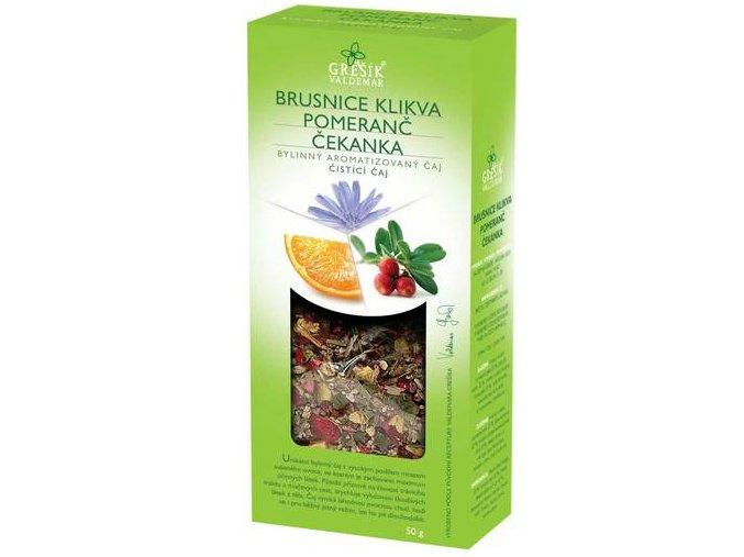 GREŠÍK Brusnice klikva & Pomeranč & Čekanka 50 g