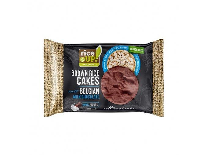 40563K Rýžové chlebíčky s mléčnou čokoládou 30g