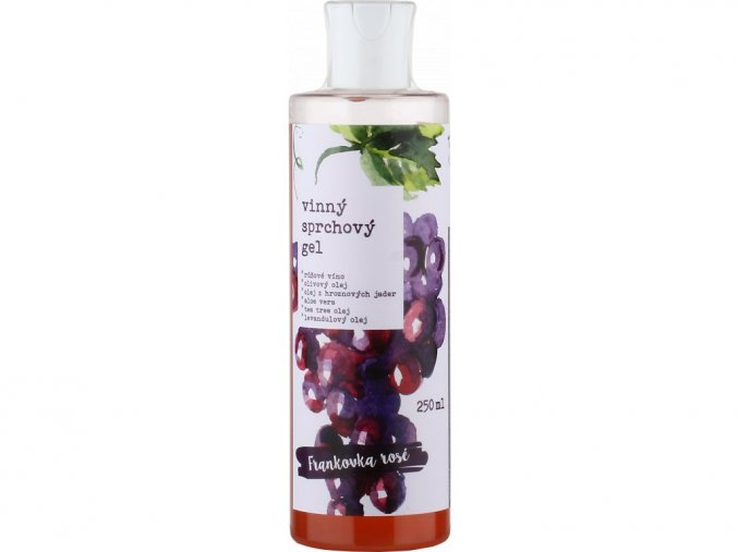 168 vinny sprchovy gel fr rose 250ml kopie