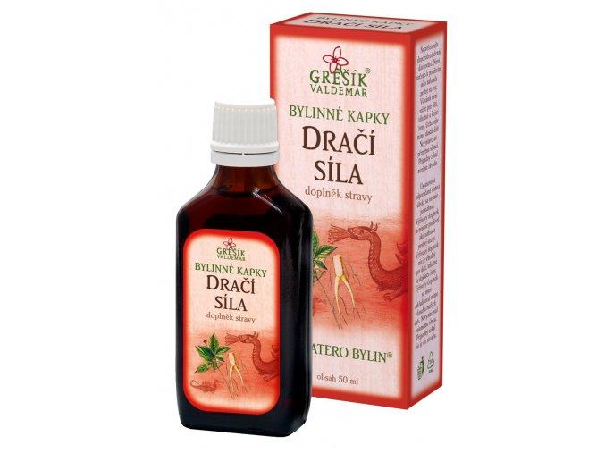 GREŠÍK Devatero bylin kapky Dračí síla kapky 50 ml