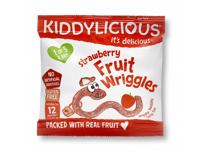 UK FRUIT WRIGGLES Strawberry SingleBag12g photo RGB